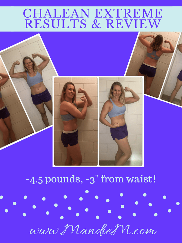#TriedItTuesday: My ChaLEAN Extreme Results & Review!