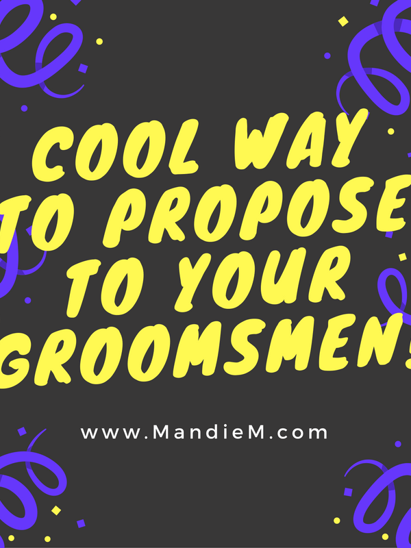 Groomsmen Proposal Idea: How Tommy Proposed to Our Groomsmen!