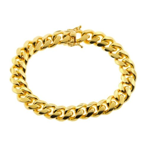 yellow-gold-925-sterling-silver-miami-cuban-solid-link-mens-bracelet-12-mm-9-inches