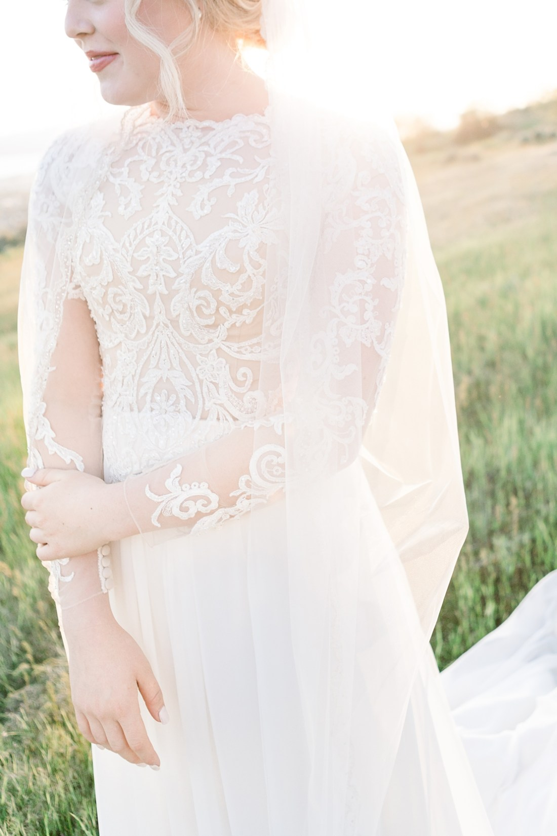 summer bridal session in Utah