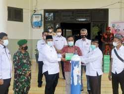 Pemda Siak terima 20 Tabung Oksigen, dan 10 Regulator bantuan dari Kadin Provinsi Riau