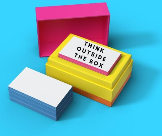 advice for writers, think outside the box