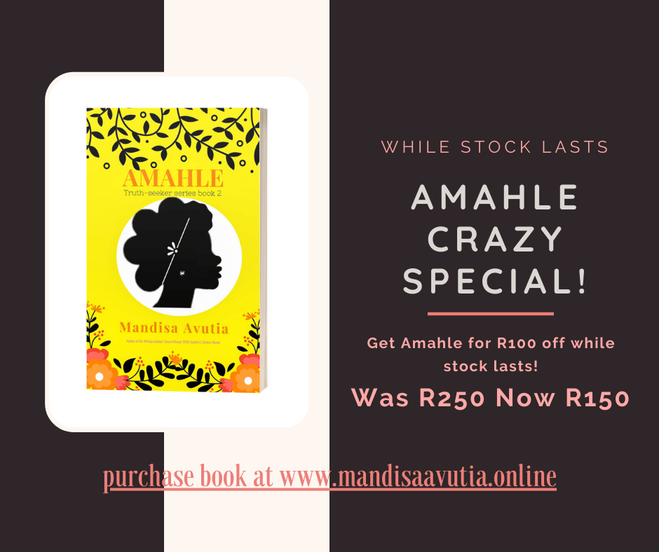 Amahle Crazy Special Book Promo South Africa