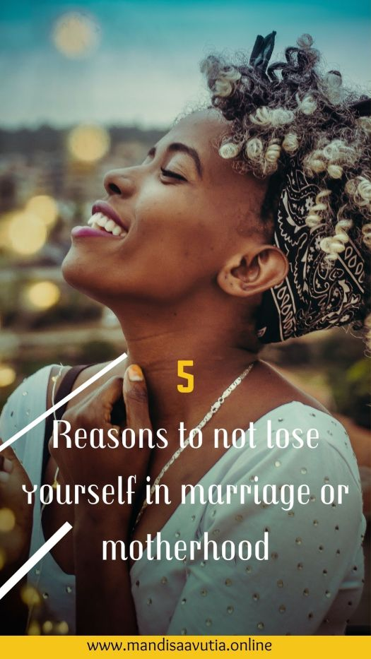 how to not lose yourself in your marriage