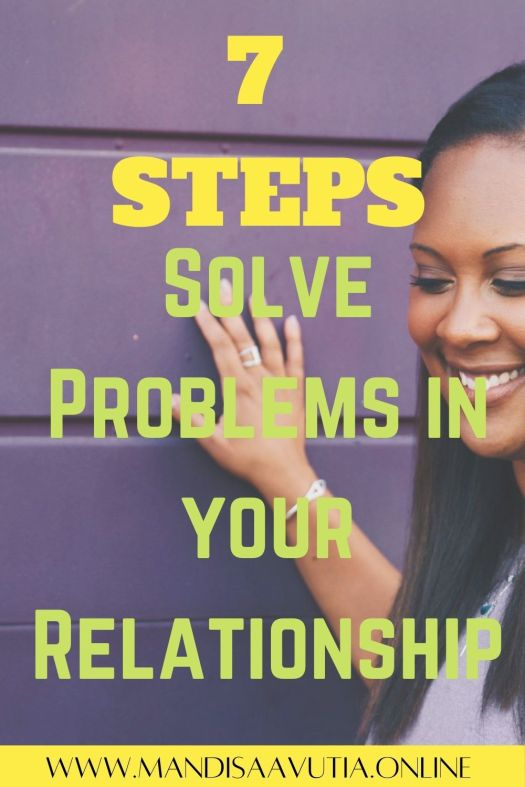 solve problems in your relationship