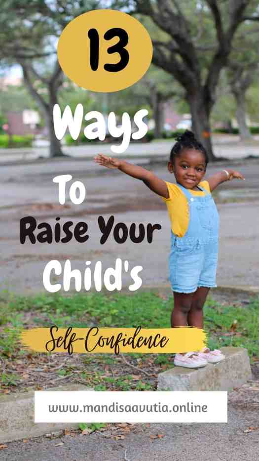child's self-confidence, 13 ways to raise your child's self confidence