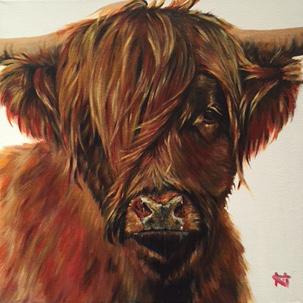 Ruby - Highland bull