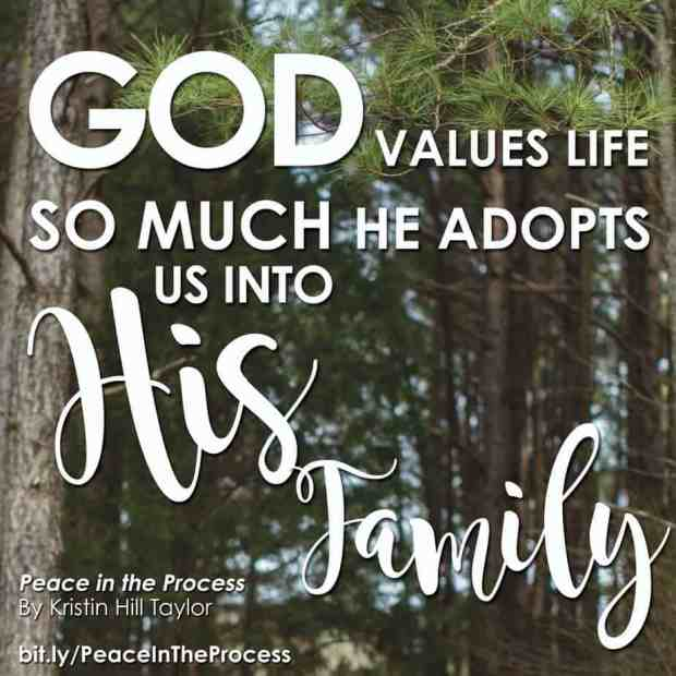 God Adopts Us into His Family
