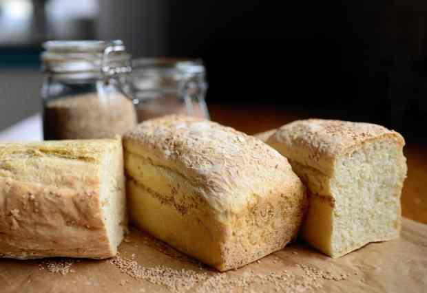 white bread for breakfast