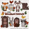 Natural Free Woodland Animal Clipart