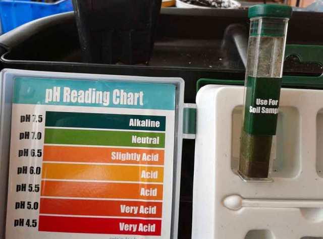 Soil testing kit