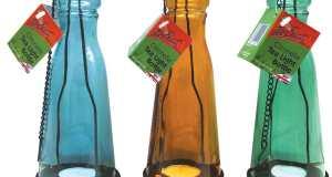 Citronella tea light bottles