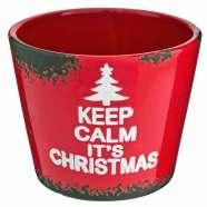 Poundland Christmas pot