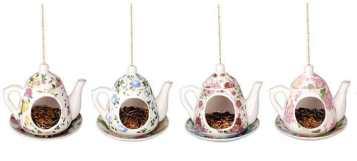 Teapot Bird Feeder, Idyll Home