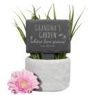 Slate plant marker