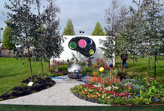 Harrogate spring flower show 2017 show gardens wonders of the brain mightylinksfo