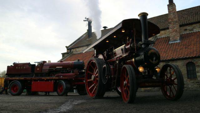 Beamish steam