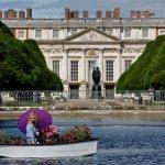 RHS Hampton Court: celebrities and children