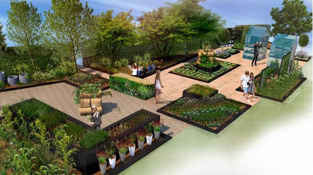 RHS Kitchen Garden