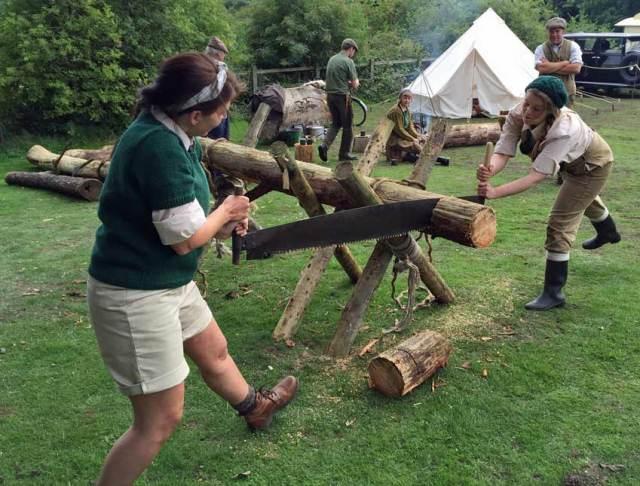 Meet the lumberjills