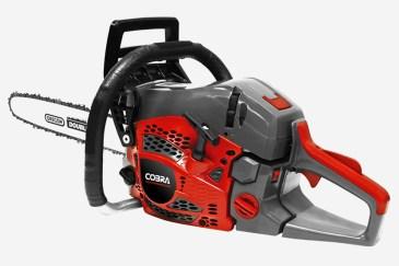 Cutting edge... the CS40 chainsaw. Picture; Cobra