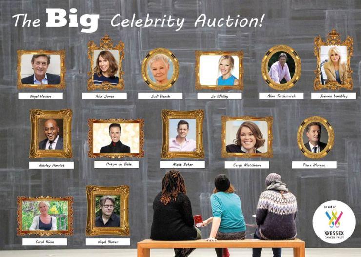 Hillier Celebrity Auction