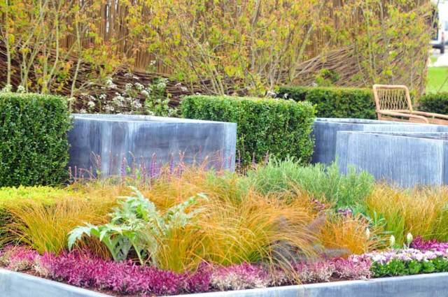 Spring 2017 Harrogate Flower Show show garden, A Spring Tapestry, by Alistair W Baldwin Associates. Picture; Harrogate Flower Shows