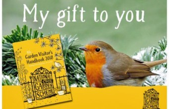 Robin gift card - order the NGS Yellow Book, out February 2018. Picture; NGS