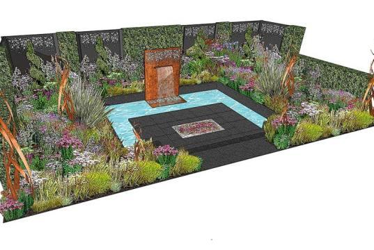 Brilliance in Bloom show garden. Picture; RHS MIC/Charlie Bloom