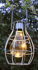 Solar Cage Light. Picture; B&Q