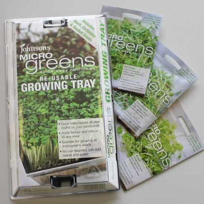 Microgreens Growing Kit. Picture; Johnsons