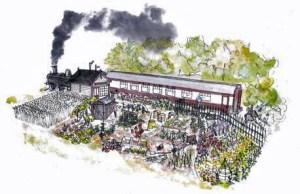 The Made in Birmingham garden. Picture; BBC GWL