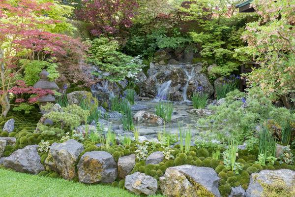 O-mo-te-na-shi no NIWA: The Hospitality Garden. Picture; RHS/Tim Sandall