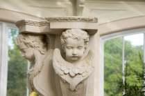 Cherub detailing. Picture; RBG Kew/Jeff Eden