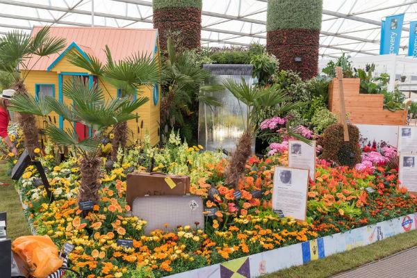 Birmingham City Council's Windrush exhibit. Picture; RHS/Sarah Cuttle