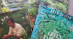 Gardening bibles... some of Beth Chatto's books