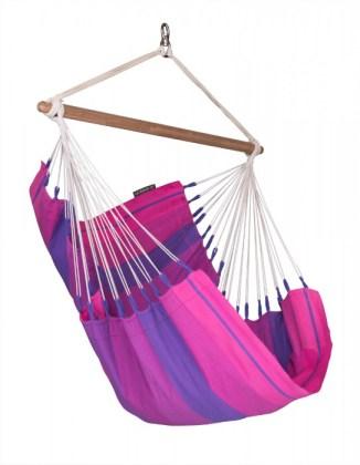 Hammock Chair Basic Corquidea in purple. Picture; Lagoon