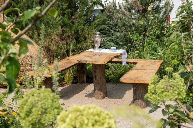 Anton Chekhov's Garden. Picture; RHS/Joanna Kossak