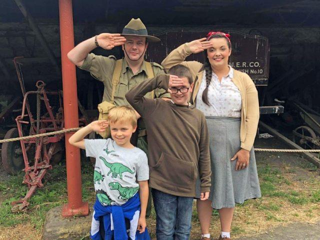 Soldiering Saturdays. Picture; Beamish Museum