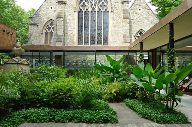 The Garden Museum - the Sackler Garden and extension