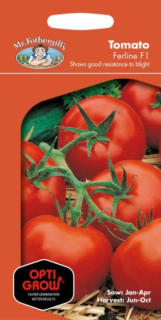 Optigrow Tomato Ferline. Picture; Mr Fothergill's