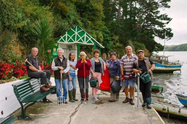 Volunteers at Sunny Corner, Truro in Bloom. Picture; RHS/Jim Wileman