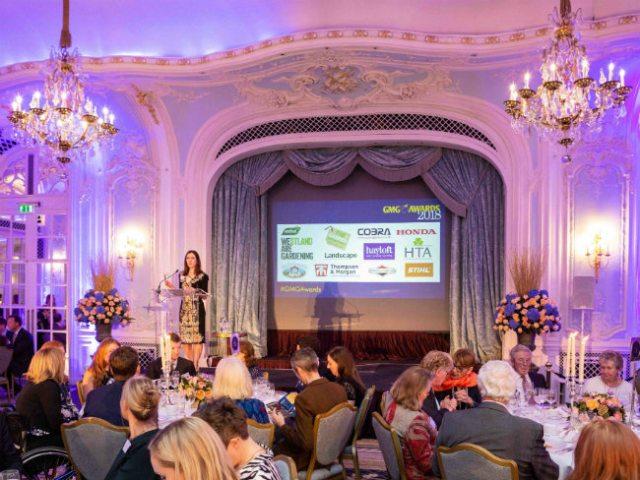 Garden Media Guild Awards 2018 - chair Clare Foggett. Picture; Jayne Lloyd