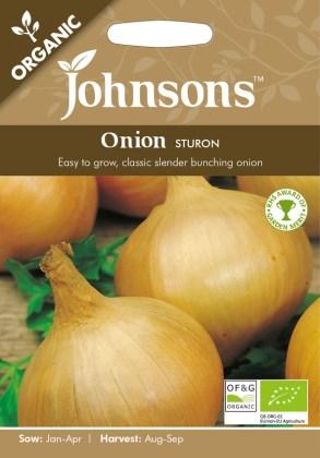 Onion Sturon (Organic). Picture; Johnsons