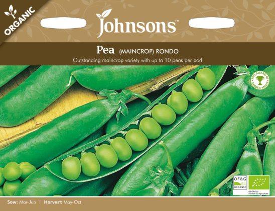 Pea Rondo (Organic). Picture; Johnsons