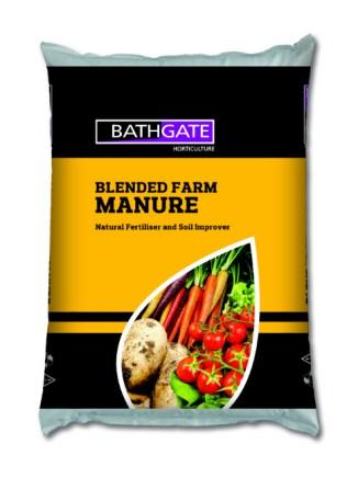 Blended Farm Manure. Picture; Bathgate