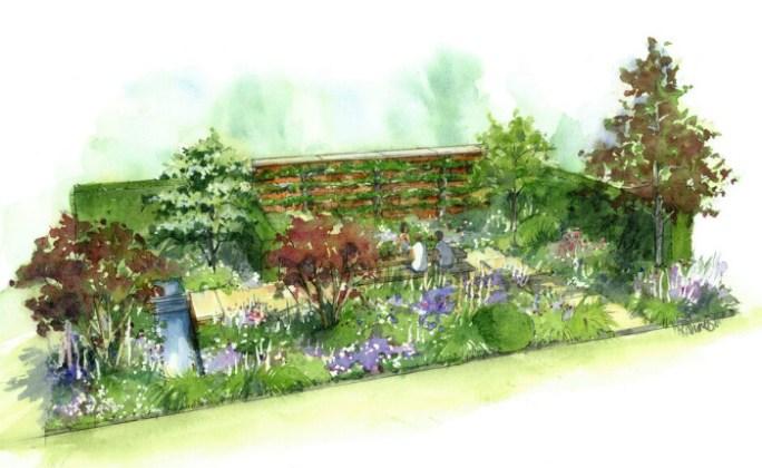 The Wedgwood Garden. Picture; Jamie Butterworth