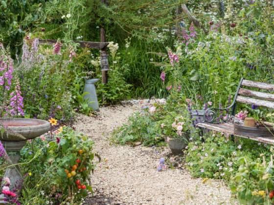 Springwatch Garden by Jo Thompson. Picture by RHS/Joanna Kossak
