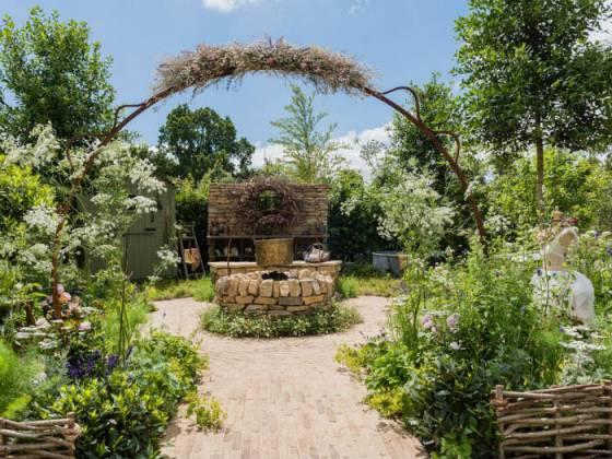 The Naturecraft Garden by Pollyanna Wilkinson. Picture; RHS/Joanna Kossak