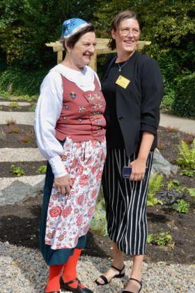 Karolina von Mentzer and Inez Zachrisson. Picture; NGS